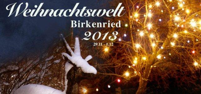Weihnachtswelt-Birkenried