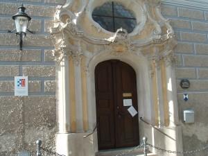 Eingang Heimatmuseum Günzburg