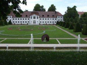 Blick auf die Orangerie in Kempten
