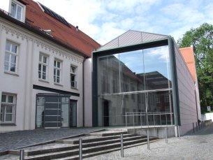 Eingang Diözesanmuseum St. Afra
