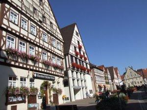 Marktplatz von Oettingen