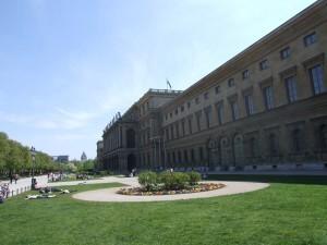 Residenz München und Hofgarten