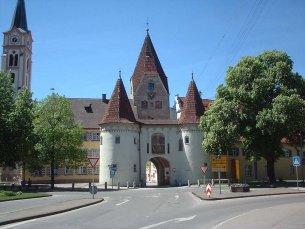 © H.-G. Olszynski - Obere Tor in Weißenhorn