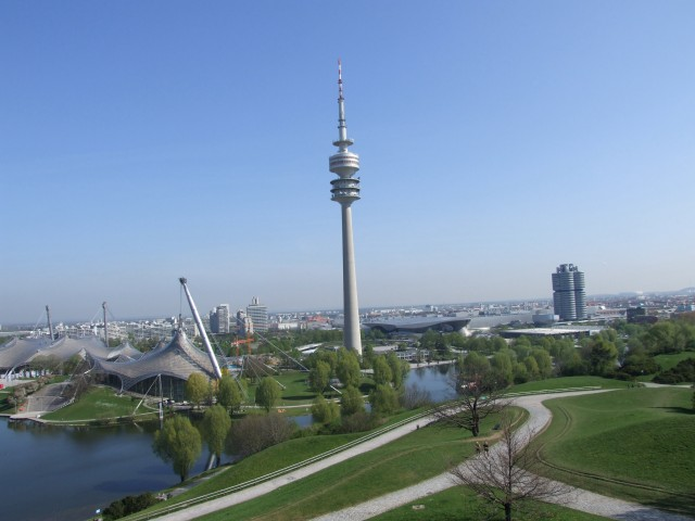 Blick auf den Olympiapark