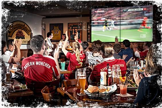 Foto: Champion's Bar im Marriott Hotel