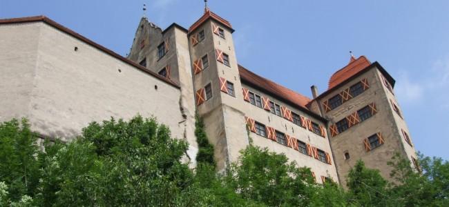 Schloss Harburg an der Romantischen Straße