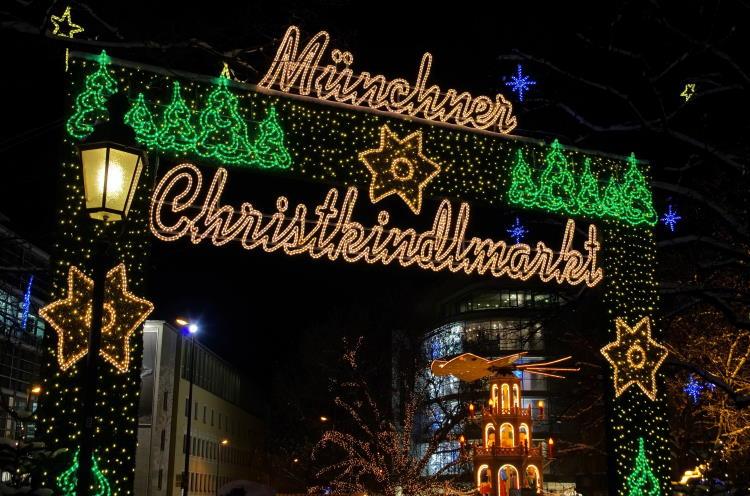 Christkindlesmarkt Marienplatz München