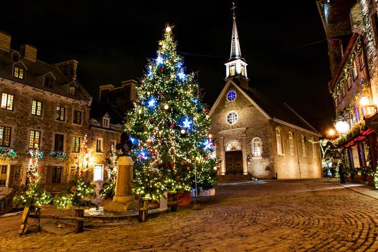 Weihnachtsmarkt Quebec