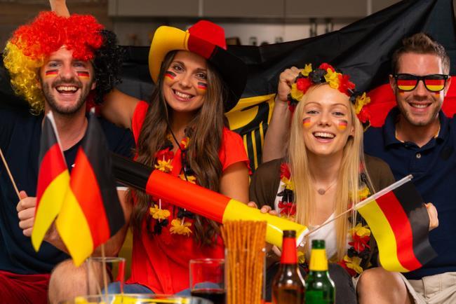 Deutsche Fussballfans