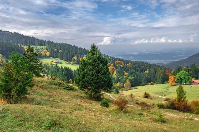 Urlaub in Bayern im Herbst