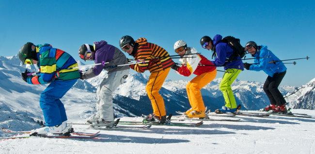 Skijacken Winter
