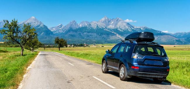 Auto nach Österreich