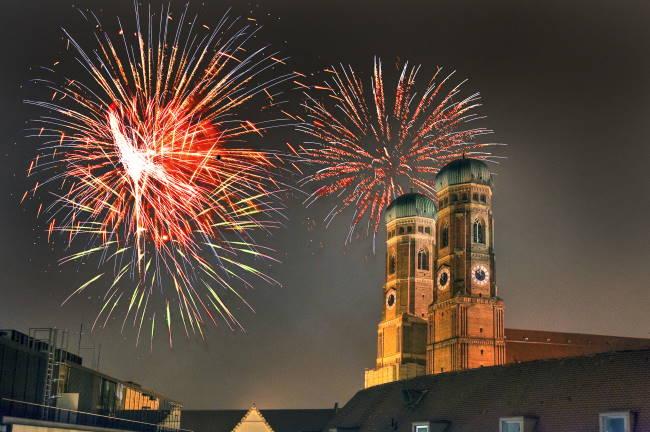 Feuerwerk München