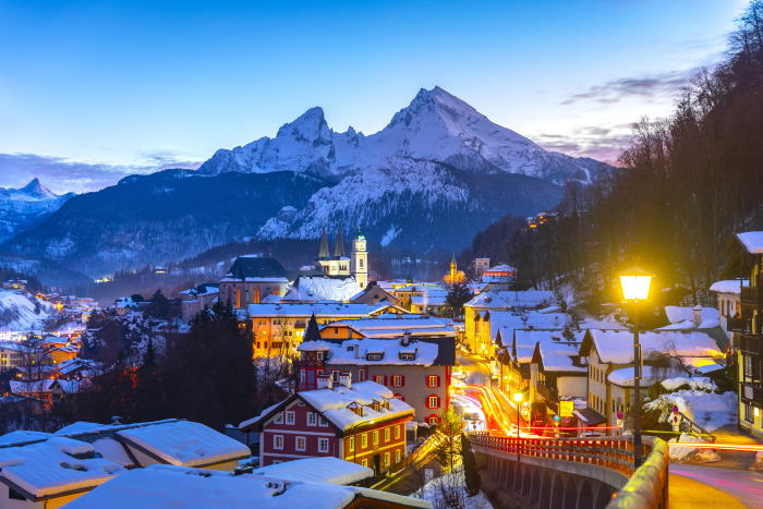 Berchtesgaden, Winterurlaub