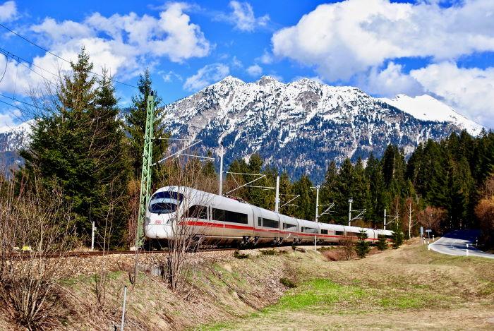 Mit dem Zug durch Bayern reisen