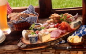 Essen in den Alpen