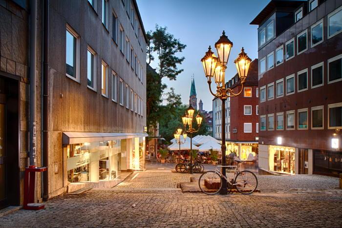 Fußgängerzone Nürnberg