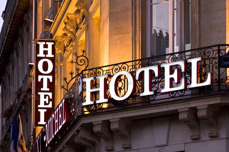 Hotel im Netz