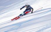 Ski Rennfahrer